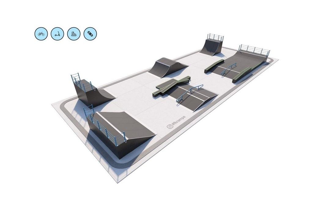 Этим летом скейт-парк за Молодёжным центром преобразится