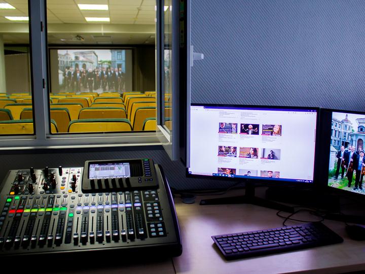 Виртуальный концертный зал в Норильске