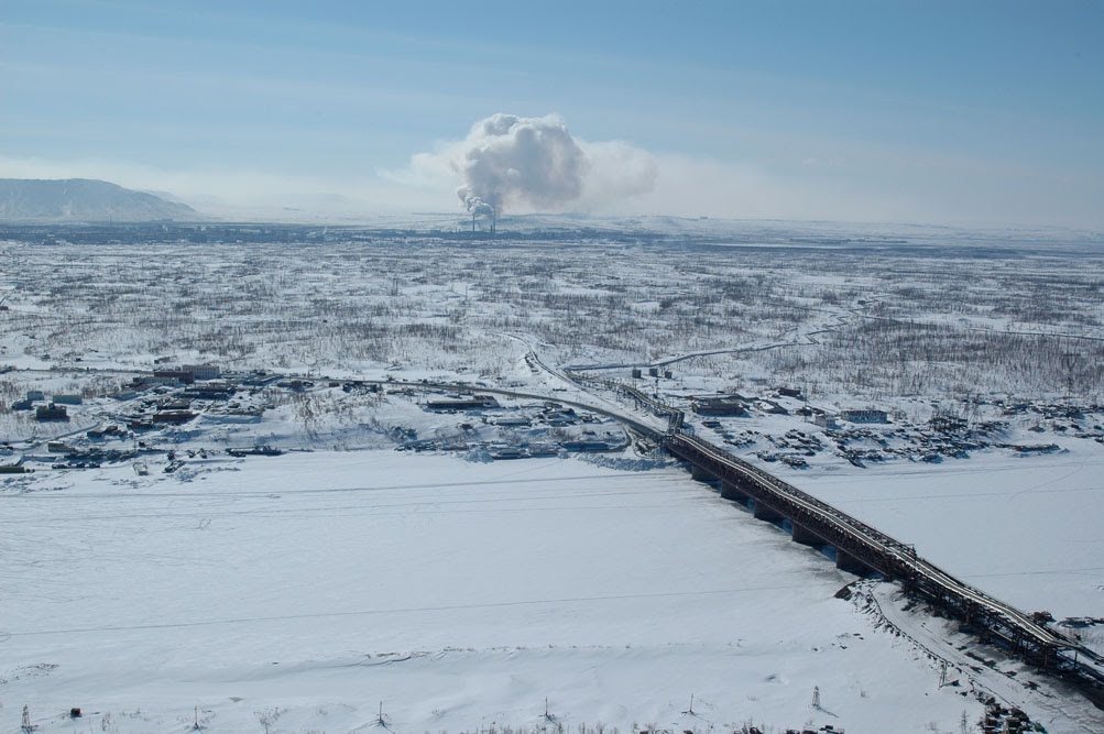 В Норильске обсуждается возможность строительства стационарного гидросооружения на реке Норильская