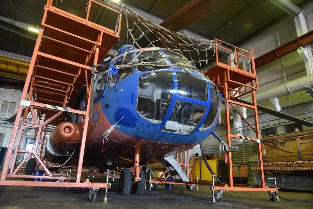 Лето на мази. Вертолёты авиакомпании «Норильск Авиа» перешли на летний сезон эксплуатации