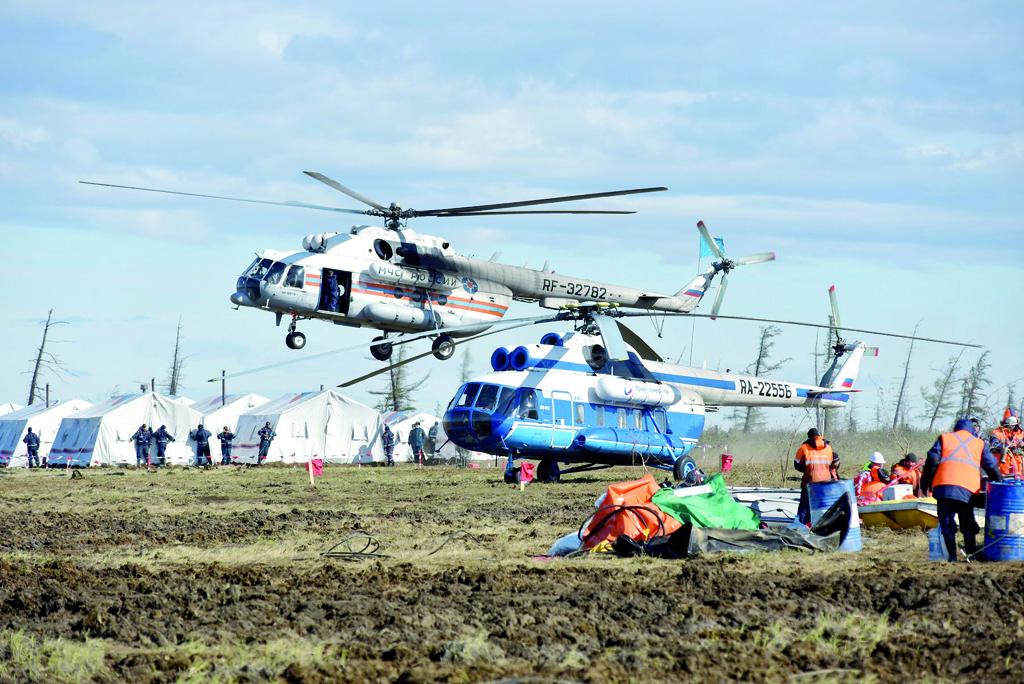 В Красноярском крае планируется создать арктический комплексный аварийно-спасательный центр