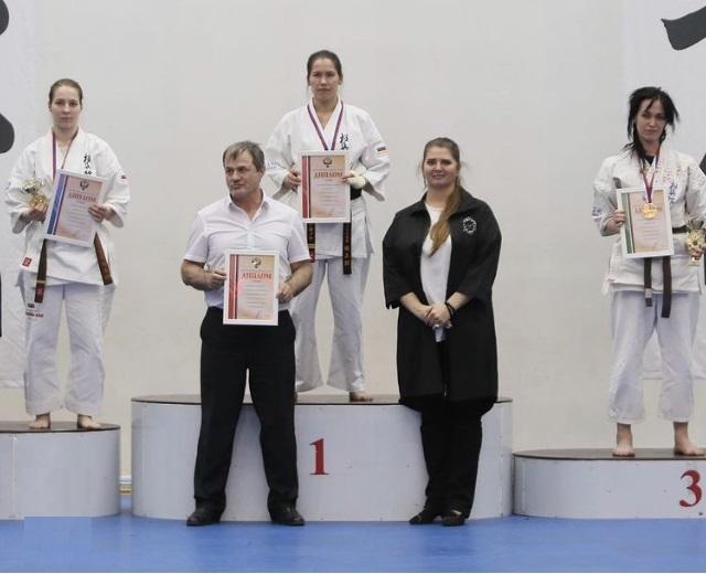 Норильская спортсменка стала чемпионкой России по киокусинкай карате