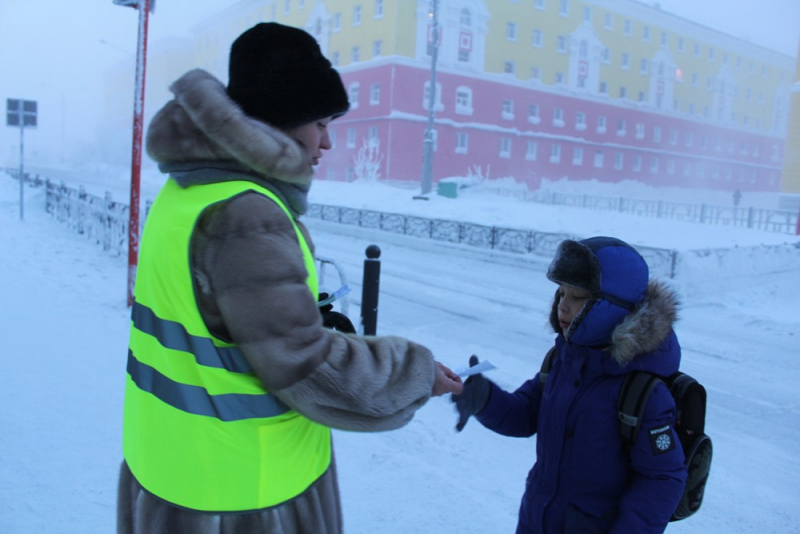 Акция «Соблюдай ПДД!» - на страже безопасности юных пешеходов