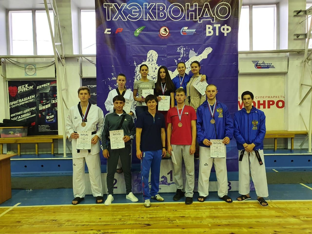 Норильские тхэквондисты выступят на чемпионате России