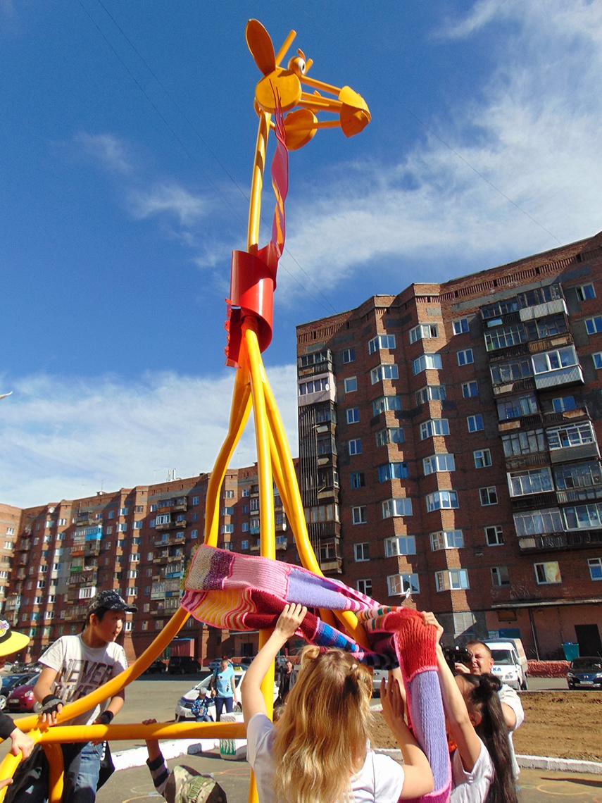 Полярному жирафу в Талнахе посвящается новый онлайн–конкурс