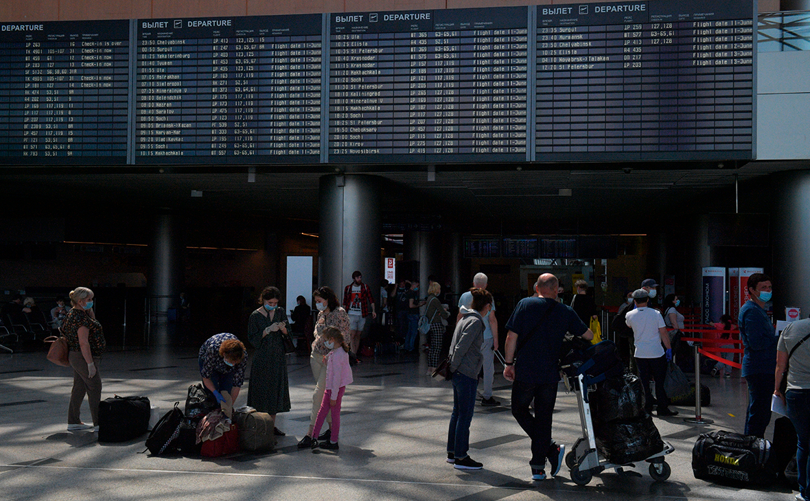 В России предложили план по возобновлению международного авиасообщения