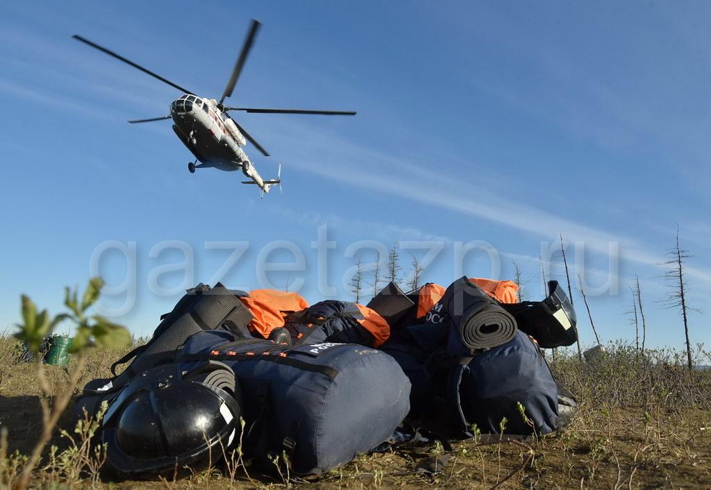 Ежедневно вертолётами «Норильск Авиа» совершается около десяти рейсов Ми-8 к месту ликвидации аварии на Амбарке.