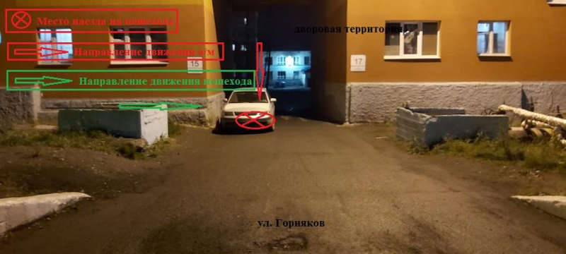 В Талнахе в ДТП пострадал ребёнок
