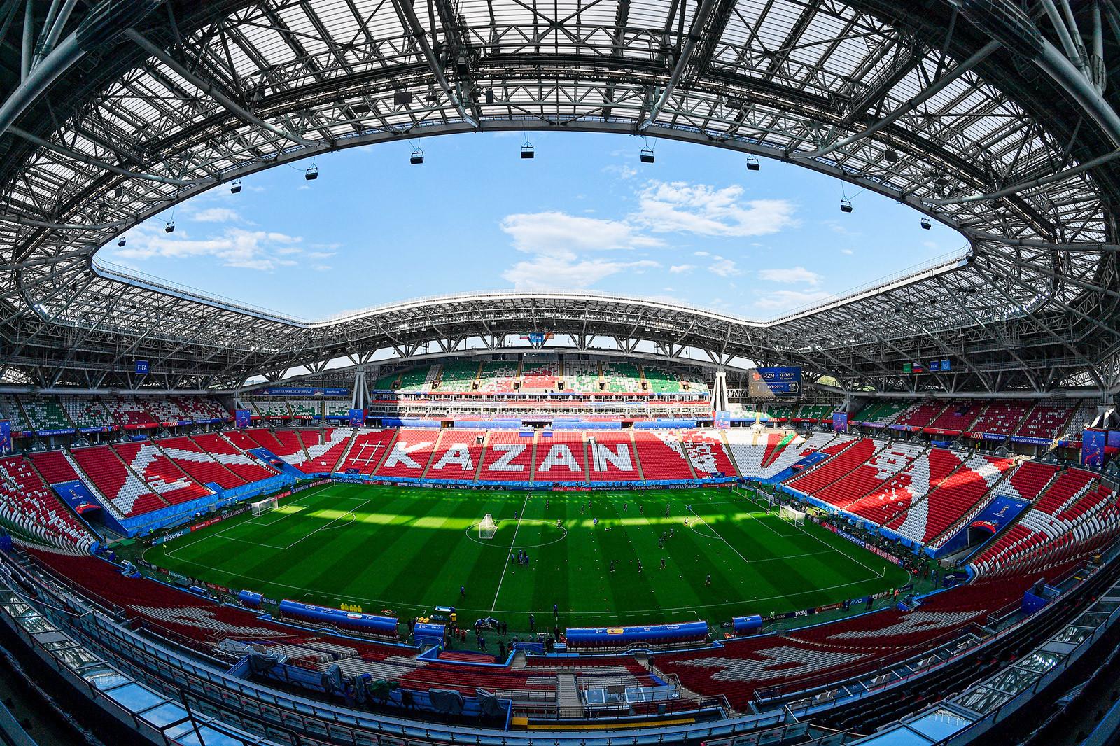 Количество болельщиков на матчах в Татарстане увеличилось