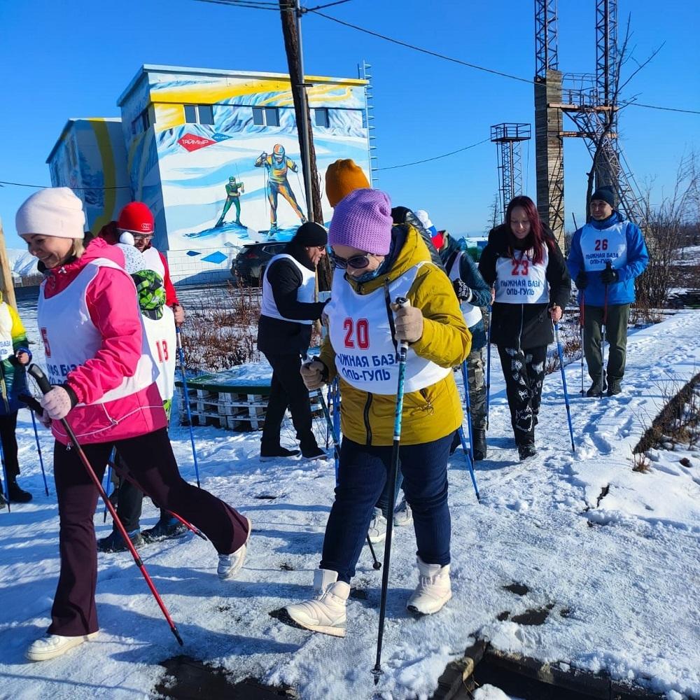 Всероссийский день ходьбы отметили в воскресенье на лыжной базе «Оль-Гуль»