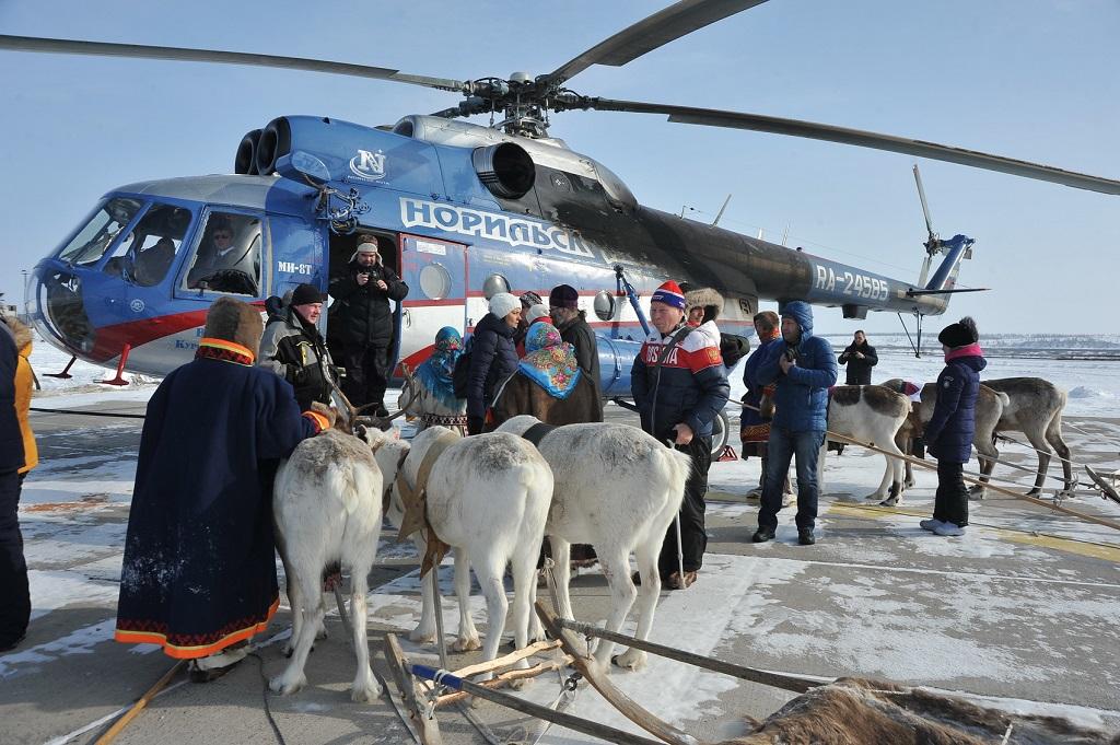 В Норильск поступили новые вертолёты