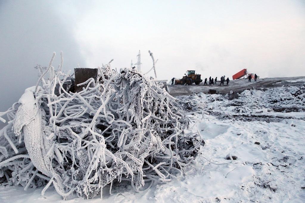 На промотвале «Байкал-2000» продолжаются работы по ликвидации возгораний