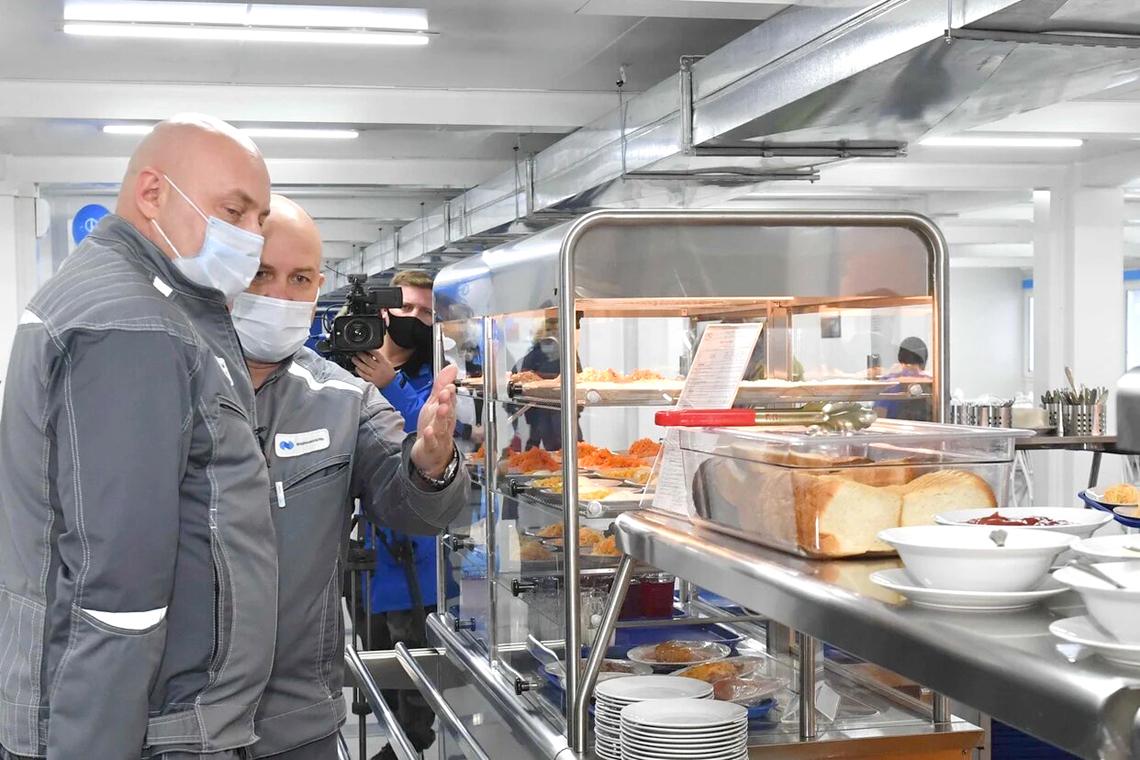 Состоялось открытие первой очереди вахтового жилого комплекса для строителей «Серной программы»