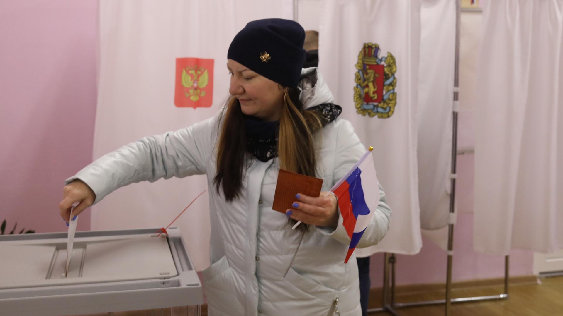 В Красноярском крае оборудуют 2178 избирательных участков