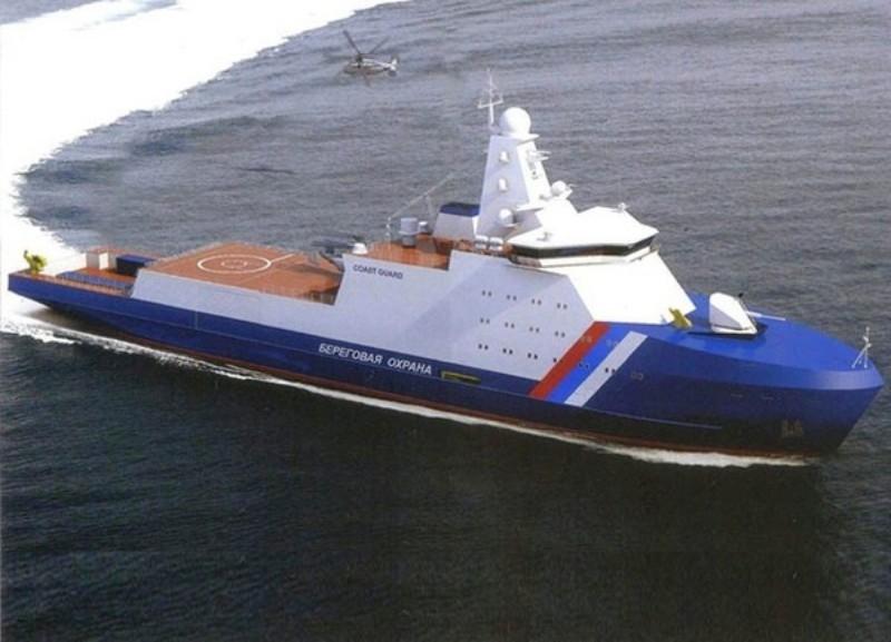 Для Арктики строят три сторожевых корабля