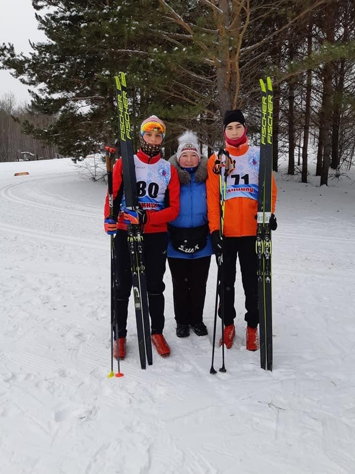 Норильские спортсмены стали победителями первенства края по лыжным гонкам среди юношей