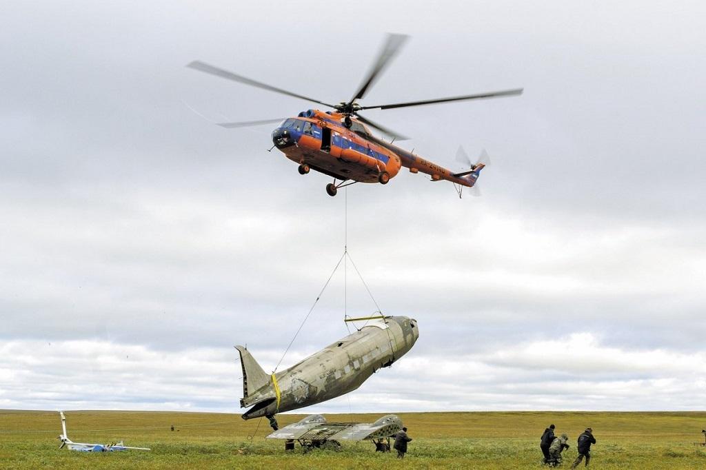 Найденный на Таймыре самолёт американского производства станет ключевым экспонатом выставки музея освоения Арктики