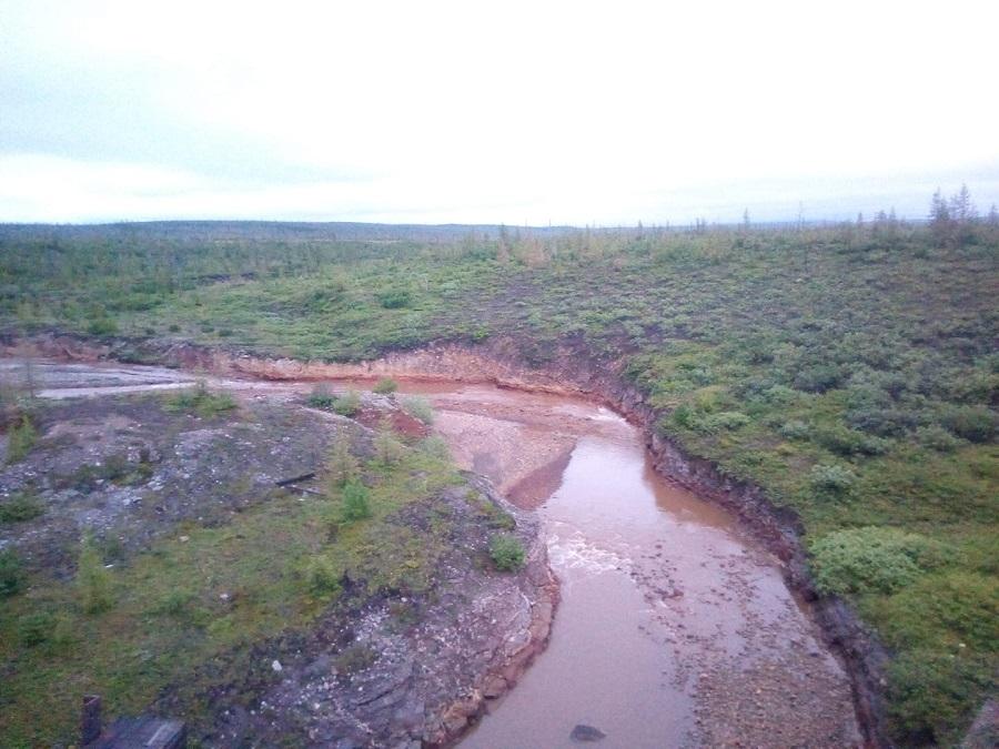 Роспотребнадзор проверил состояние воды в реке Далдыкан