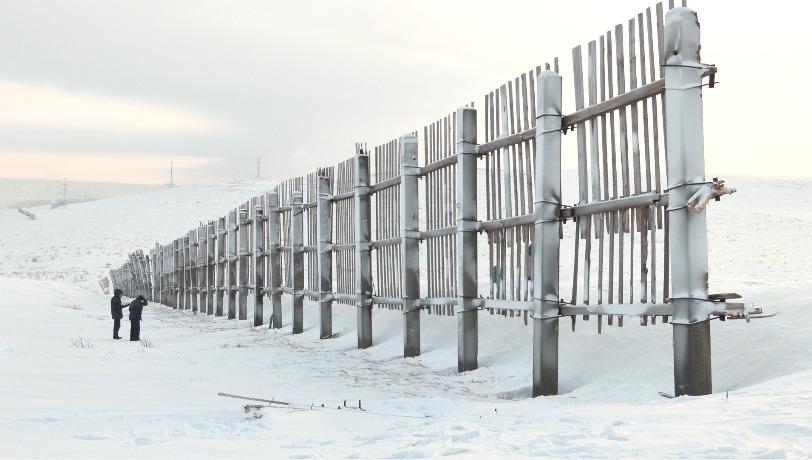 Новые подходы учёных СФУ помогут бороться со снежными заносами