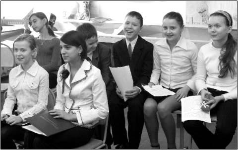 Школьники в поисках