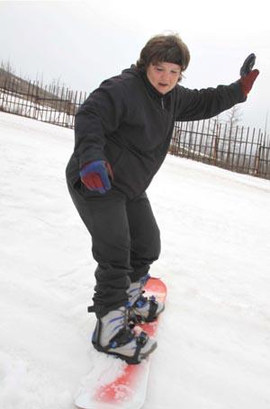 Сноубордистка Стрючкова