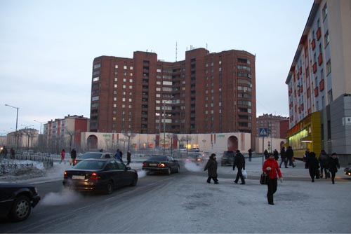Улица Красноярская