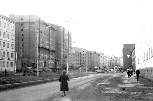 Улица Павлова и улица Советская