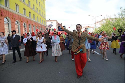 Норильск. Юбилейные дни