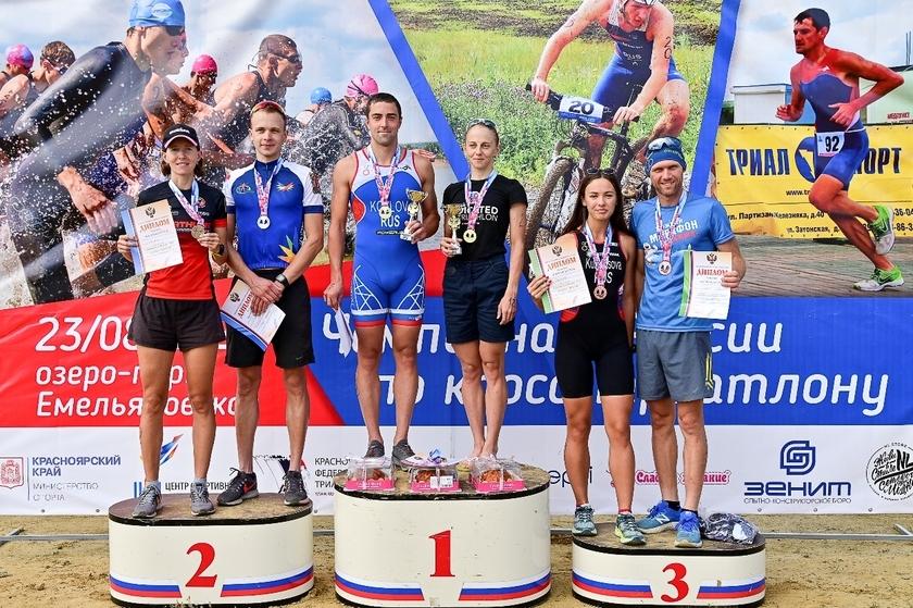 Чемпионат России по кросс-триатлону