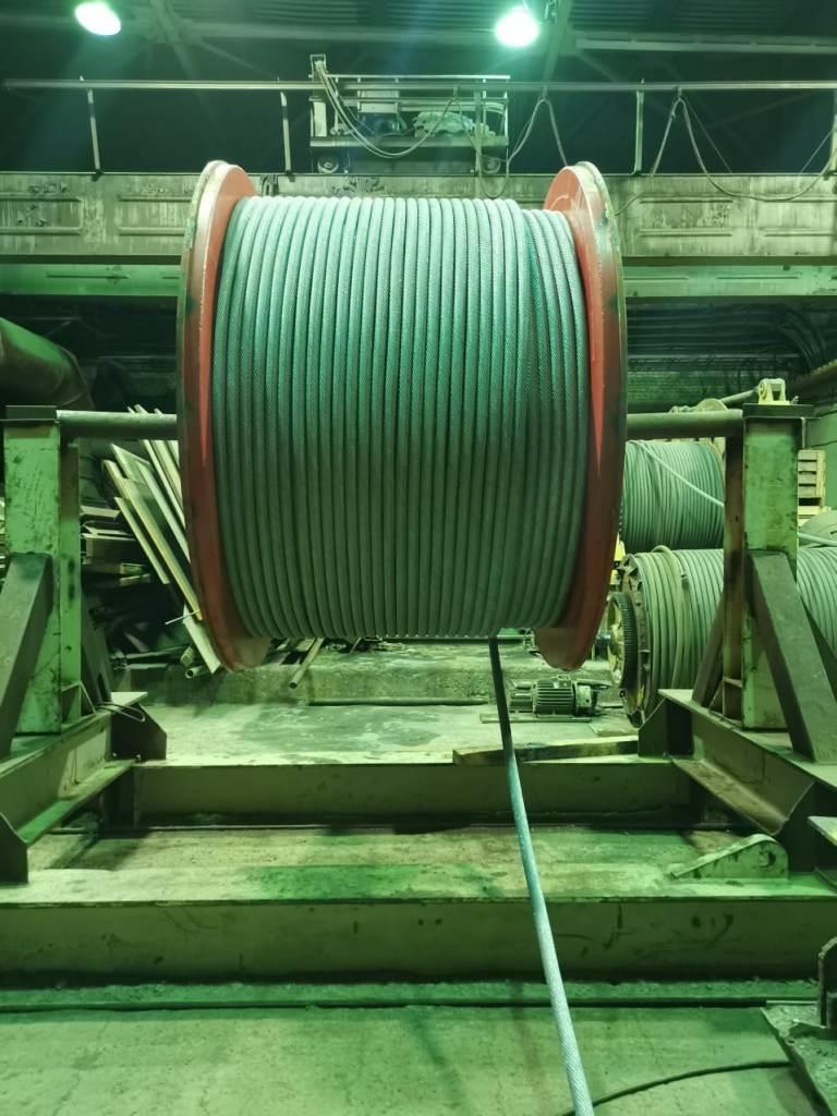 На скиповом стволе рудника «Таймырский» головные канаты заменят на новые