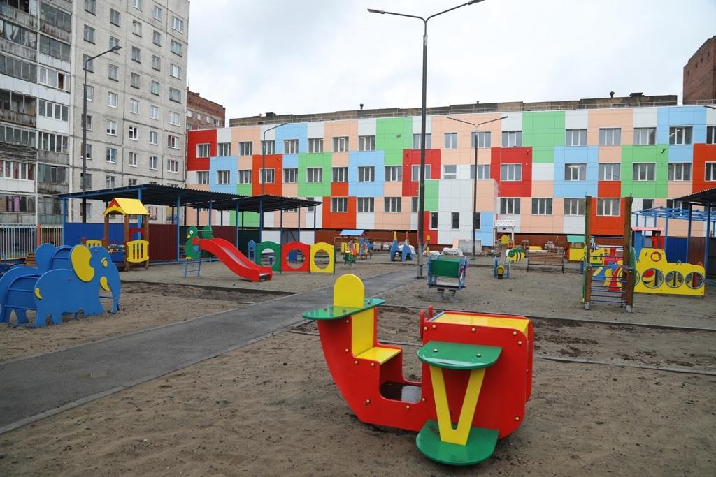 Капитальный ремонт детского сада на Московской, 18, подходит к концу