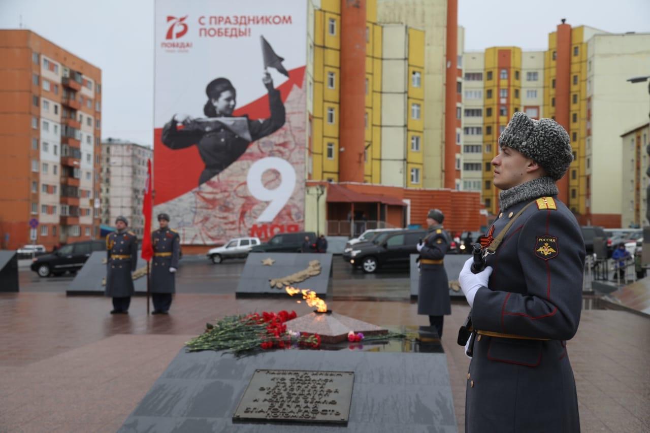 Норильск отпраздновал 75-летие Великой Победы
