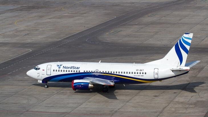 В NordStar обновили салон самолёта Boeing 737-300