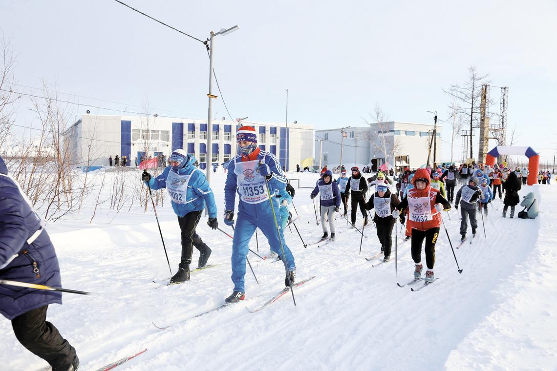 На лыжной базе «Оль–Гуль» завершилось первенство города по лыжным гонкам