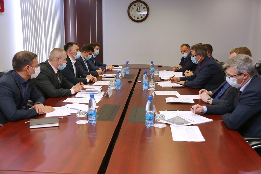 В рамках рабочей поездки министр промышленности, энергетики и ЖКХ края встретился с главой Норильска