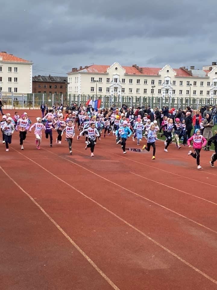Норильск принял участие во Всероссийском дне бега «Кросс нации»