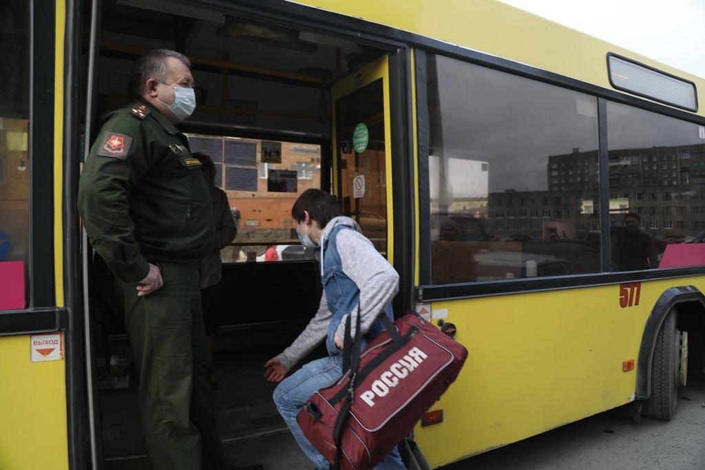360 призывников из Норильска и Дудинки пополнили ряды вооружённых сил России в 2020 году