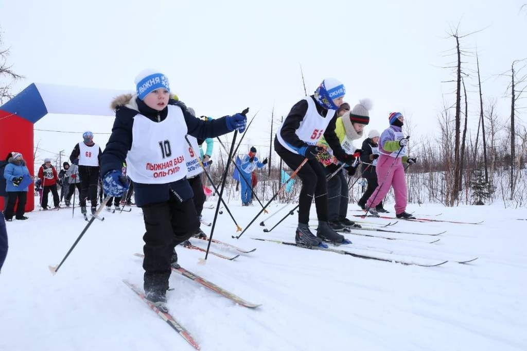 Все встаём на лыжи и участвуем в онлайн-акции «Оль-Гуля»