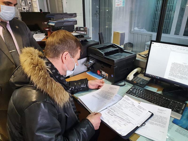 Члены Общественного совета при Норильском ОМВД проверили работу дежурной части отдела полиции № 1