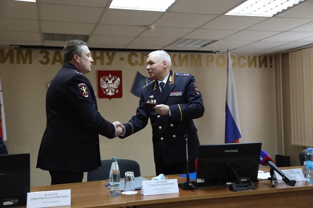 Норильский отдел МВД возглавил новый руководитель. С сегодняшнего дня он приступил к своим служебным обязанностям