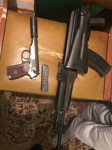 Срок за незаконное хранение оружия