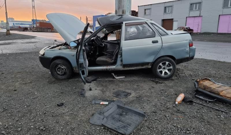 16-летний норильчанин стал виновником ДТП