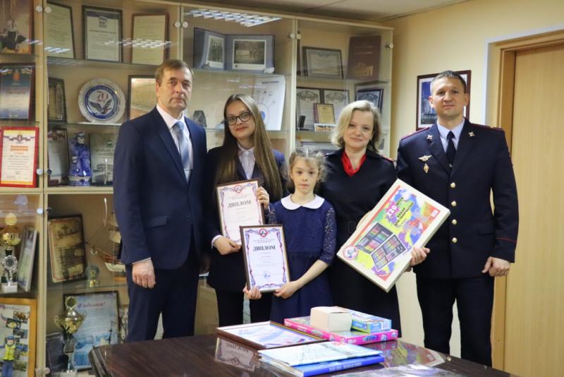 В Норильске наградили победителей городского и краевого этапов конкурса «Полицейский дядя Стёпа»