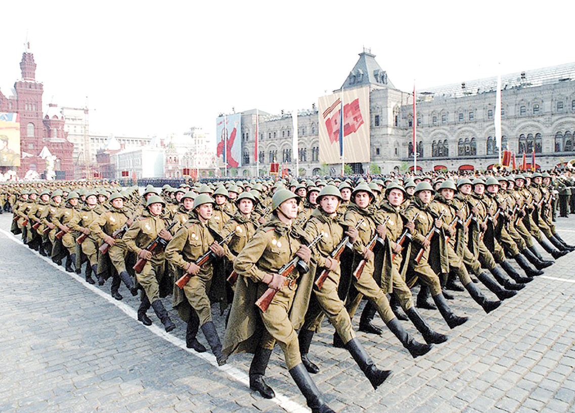 Победный марш - в день Парада Победителей 1945-го года