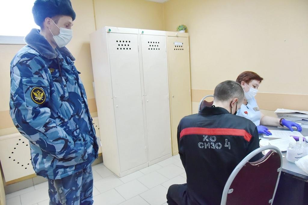 В Норильске началась вакцинация спецконтингента в следственном изоляторе