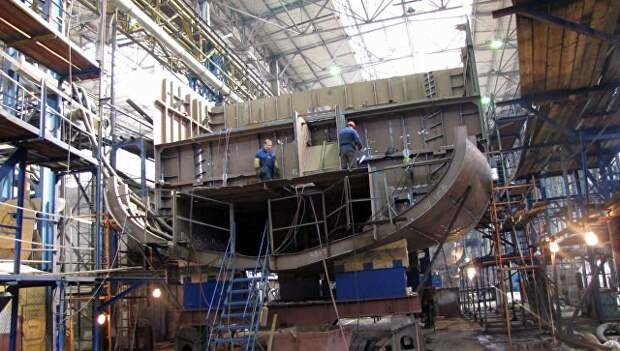 В Санкт-Петербурге сегодня состоится закладка теплохода «Андрей Дубенский», который будет работать на Енисее