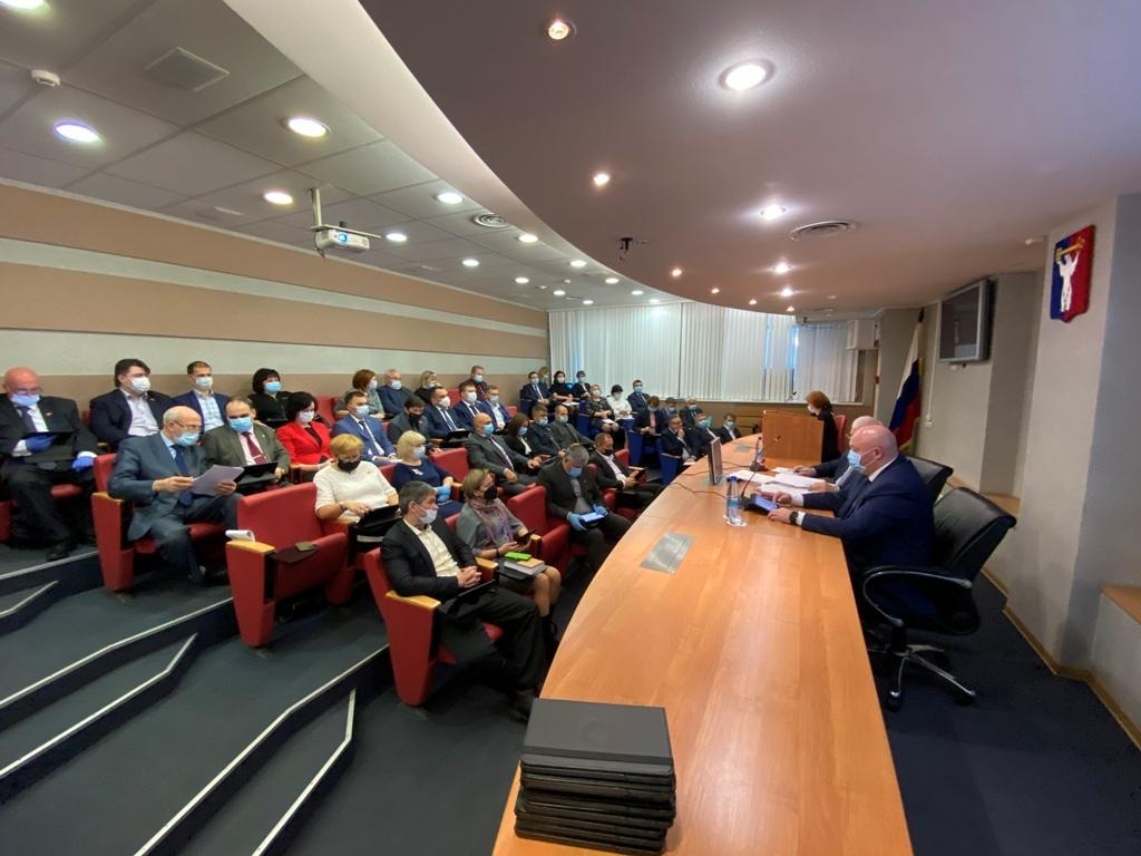 Состоялась 23-я сессия норильского городского Совета