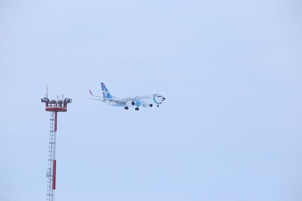 Самолёты, следовавшие в Норильск, приземлились в других городах
