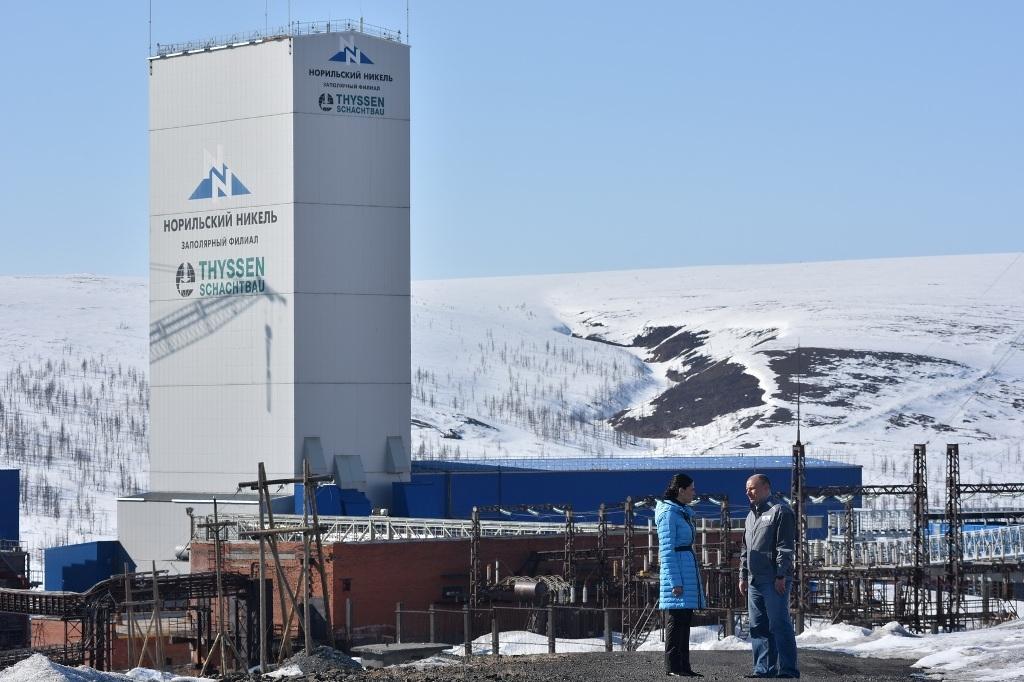 У рудника «Скалистый» появилась камера сборки, где будут собирать горные машины