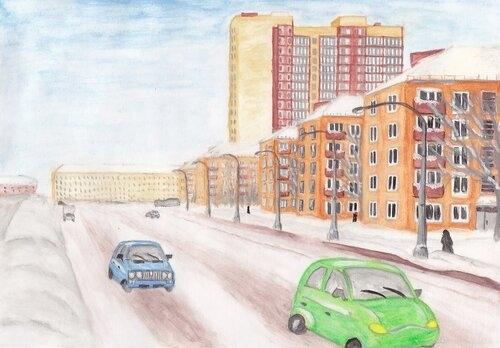 Норильские школьники могут передать красоту своего города в рисунках
